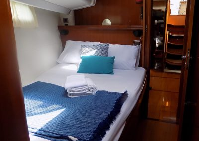 Guest cabin S/Y Spirit of Lusitania