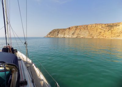sailing summer time Burgau, Algarve