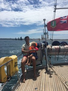 sailing with kids in Portugal