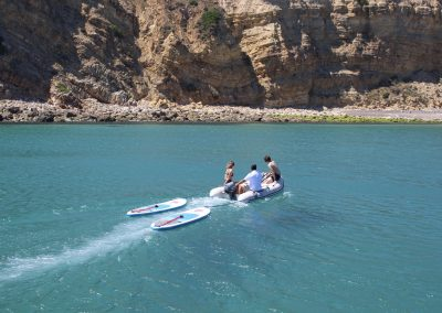 paddleboards/ sailing holidays